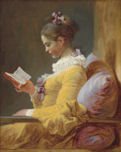 The Reader, Jean-Honore Fragonard